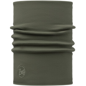 Buff Heavyweight Merino Wool Neck Tube Solid Forest Night
